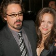Robert Downey Jr. and Susan Levin - Foto de Stock