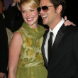 Постер, плакат: Katherine Heigl and Johnny Knoxville at the premiere of The Ringer The Directors Guild Los Angeles CA 12 14 05