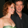 Alicia Witt, Timothy Hutton — Stock Photo