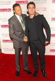 Terrence Howard and Matt Dillon — Stock Photo