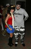 Fiesta de halloween hollywood airparty — Foto de Stock