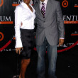 Stock Photo: Kelly Rowland and Duane Martin at premiere of Seat Filler. El CapitTheatre, Hollywood, CA. 02-22-06