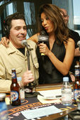 Adam Carolla at a live taping of the Adam Carolla Radio Show. Ghost Bar, Palms Hotel, Las Vegas, NV. 03-09-06 — Stock Photo