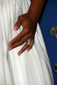 Star Jones Reynold ring — Stock Photo