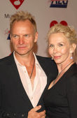 Sting and Trudie Styler — Stock Photo