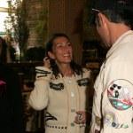 ������, ������: Jules Naouri with Agnes Naouri and Shaun Toub