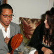 Terrence Howard and Fileena Bahris — Foto de Stock