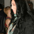 Постер, плакат: Cher arriving at Mercedes Benz Fall 2006 L A Fashion Week Day 2 Smashbox Culver City CA 03 20 06