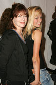 Frances Fisher and Francesca Fisher Eastwood — Stock Photo