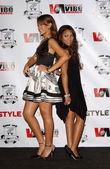 Rihanna and Teairra Mari — Foto de Stock