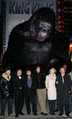 Andy Serkis, Jack Black, Peter Jackson, Adrien Brody, Naomi Watts, Mayor Michael R Bloomberg — Stock Photo