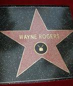 Wayne Rogers Hollywood Walk Of Fame Ceremony — Stock Photo