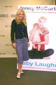 """Jenny McCarthy Signs """"Belly Laughs"""" — Stock Photo"""