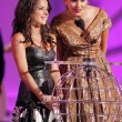 Kelly Monaco and Maggie Grace during the World Music Awards Show. Kodak Theatre, Hollywood, CA. 08-31-05 — Foto de Stock