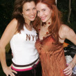 Alicia Arden and Phoebe Price - Stock Photo