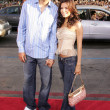 Tony Parker and Eva Longoria — Stock Photo