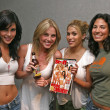 Karen Miller, Ivana Bozilovic, Rachel Sterling and Naureen Zaim - Foto de Stock