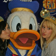 Brenda Strong, Donald Duck and Ashley Tisdale — Stock Photo #16655495