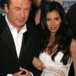 Alec Baldwin and Roselyn Sanchez at PETAs 25th Anniversary Gala and Humanitarian Awards Show. Paramount Pictures, Hollywood, CA. 09-10-05 - Foto de Stock