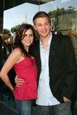 Sophia Bush and Chad Michael Murray — Stok fotoğraf