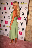 Katie Lohmann at the Playboy July 2005 Issue Release Party for Cover Model Joanna Krupa, Montmartre Lounge, Hollywood, CA 06-15-05 — Stock Photo