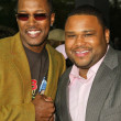 Flex Alexander and Anthony Anderson - Zdjcie stockowe