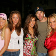 Kerry OConnell, Kerri Kasem, Galen Brown and Tina Jordan at the Two Chicks and a Bunny at the Saddle Ranch, The Saddle Ranch Chop House, West Hollywood, CA 07-17-05 — Stock Photo #16666829