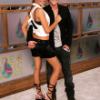 Stock Photo: Katie Cassidy and Jesse McCartney arriving at 2005 MTV Video Music Awards. AmericAirlines Arena, Miami, FL. 08-28-05.