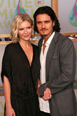 Kirsten Dunst and Orlando Bloom — Stock Photo