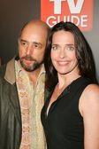 Richard Schiff and Sheila Kelly — Stock Photo