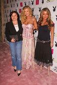 Playboy červenec 2005 vydání release party pro pokrytí model joanna kru — Stock fotografie