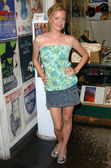 Kate Norby at the In-store event to promote Rob Zombies The Devils Rejects, Hollywood Book and Poster Company, Hollywood, CA 07-10-05 — Zdjęcie stockowe