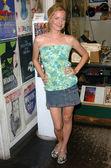 Kate norby på händelsen i butiken att främja rob zombies devils avvisar, hollywood bok och affisch företag, hollywood, ca 07-10-05 — Stockfoto