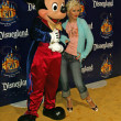 Stock Photo: Mickey Mouse and ChristinAguilera