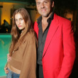 Katie Chonacas and Carlo Vailati at the Cris beauty spa and party featuring Nectar of the Gods. Avalon Hotel, Beverly Hills, CA. 10-06-05 - Stock Photo