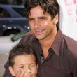Stock Photo: John Stamos and nephew