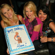 Alana Curry, Barbara Moore and Devin DeVasquez at Alana Currys Birthday Bash, Spider Club, Hollywood, CA 05-04-05 — Stock Photo #16674761