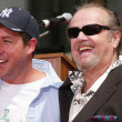 Adam Sandler and Jack Nicholson at Sandlers Hand and Foot Print Ceremoney at the Chinese Theater, Hollywood, CA 05-17-05 — Stock Photo #16676261