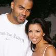 Tony Parker and Eva Longoria - Stock Photo
