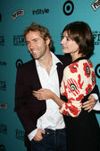 Alessandro Nivola and Emily Mortimer at the premiere of Nine Lives, Academy of Motion Picture Arts and Sciences, Beverly Hills, CA 06-21-05 — Stock Photo