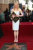 Estrela de renee zellweger sobre a caminhada de hollywood da fama — Foto Stock