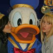 Brenda Strong, Donald Duck and Ashley Tisdale — Stock Photo #16680979