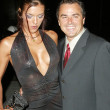 Adrianne Curry and Christopher Knight At The Roof is on Fire Party, Museum of Television and Radio, Beverly Hills, CA 08-23-05 — Stock Photo