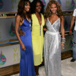 Michelle Williams with Kelly Rowland and Beyonce Knowles of Destinys Child — Stock Photo