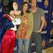 Mickey Mouse, Teri Hatcher and Jamie Denton - Stock Photo