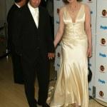������, ������: Geena Davis and husband Reza