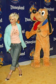 Christina Aguilera and Pluto — Stock Photo