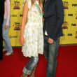 Stock Photo: Katie Cassidy and Jesse Mccartney at 2005 Teen Choice Awards. Universal Studios, Universal City, CA. 08-14-05.