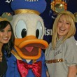 Brenda Strong, Donald Duck and Ashley Tisdale — Stock Photo #16697703