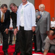 Adam Sandler at Sandlers Hand and Foot Print Ceremoney at the Chinese Theater, Hollywood, CA 05-17-05 — Stock Photo